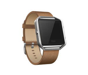 Fitbit Blaze Leather Band Camel Large