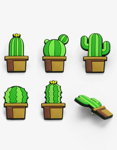 Mustard Cactus PVC Push Pins  [Pack of 5]