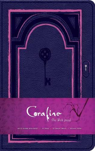 Coraline Hardcover Ruled Journal