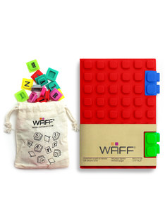 Waff Combo Red Medium Notebook