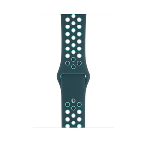 Apple 44 mm Midnight Turquoise/Aurora Green Nike Sport Band Regular