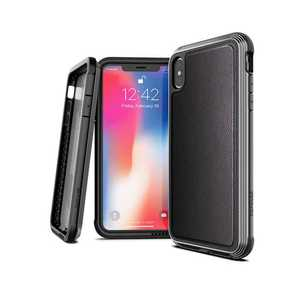X-Doria Defense Lux Case Black Carbon Fiber for iPhone XS Max
