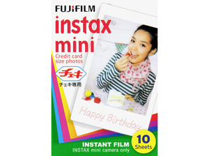 Fujifilm Instax 1 Pack Of Film [Mini 10 Sheets]
