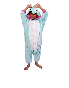 Blue Unicorn Kids Kigurumi