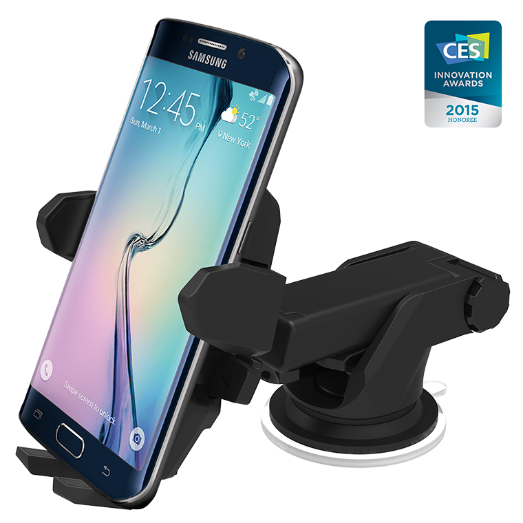 Iottie Easy One Touch Wireless Qi Charging Car Mount