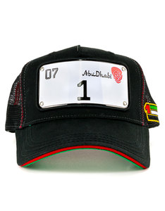 Raqam New Abu-Dhabi Collection Plate No.1 Model 1 Cap