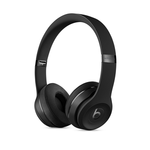Beats Solo3 Black Wireless On-Ear Headphones