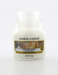 Yankee Candle Classic Jar Winter Glow White Small