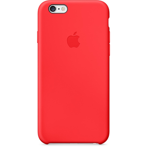 Apple Silicone Case Red iPhone 6