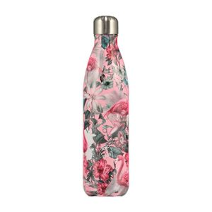 Chilly's Bottles Tropical Flamingo Water Bottle 750ml
