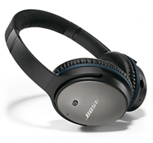 Bose Quietcomfort 25 Black Headphones (iOS Devices)