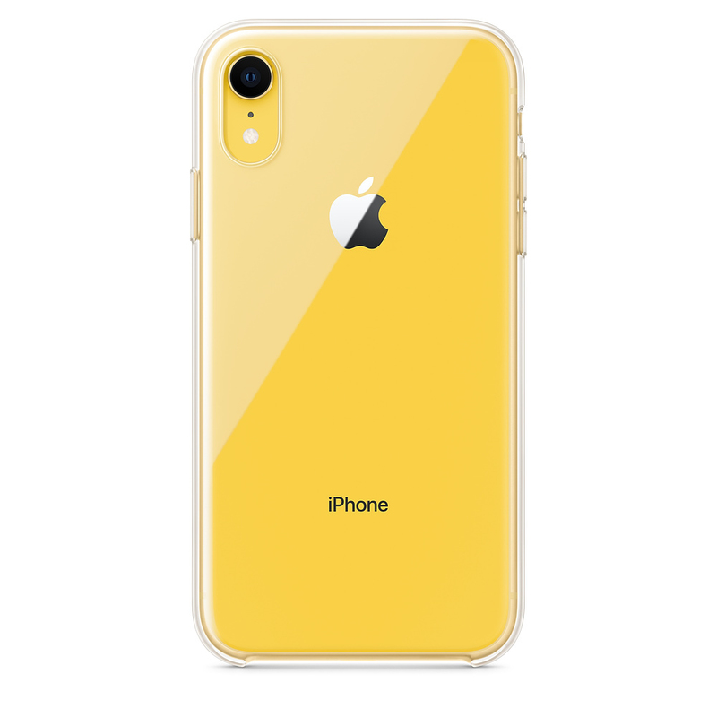 new style d43af 5ca9c Apple Clear Case for iPhone XR