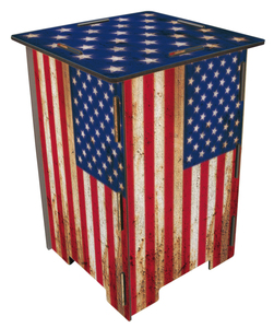 Werkhaus Usa Flag Stool