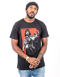 Dedicated Star Wars Vader Black T-Shirt