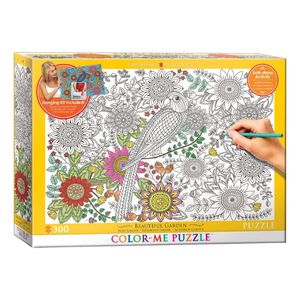 Eurographics Color Me Beautiful Garden 300 Pcs Jigsaw Puzzle