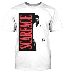 Hybris Scarface Poster Men's T-Shirt White