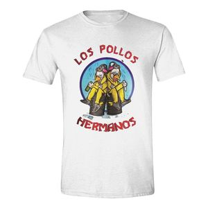 Breaking Bad Los Pollos Cooks Men'S T-Shirt White M