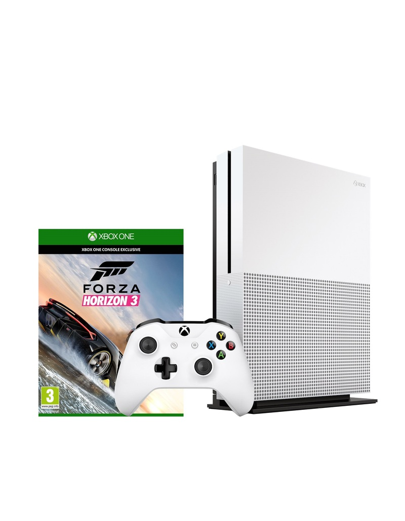 xbox one s 500gb forza horizon 3 consoles xbox one gaming virgin megastore. Black Bedroom Furniture Sets. Home Design Ideas
