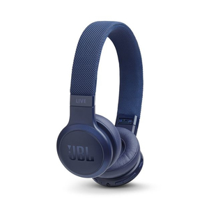 JBLLive 400BT Blue On-Ear Headphones