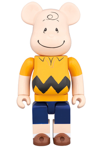 Bearbrick The Peanuts Charlie Brown 400 Percent Figure