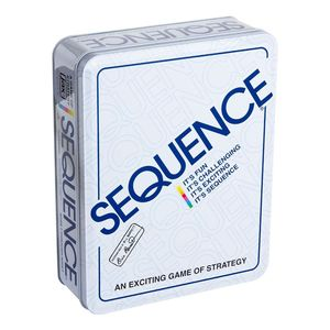 Jax Sequence Strategic Game In Tin Box