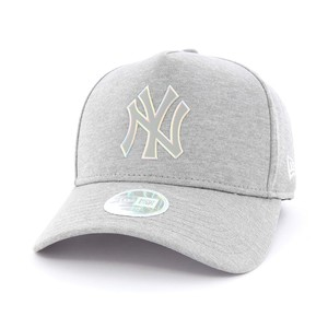 New Era Women's Iridescent Ny Yankees Lady'S Cap Grey Osfa