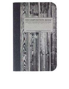 Decomposition Notebook Beachwood Two Color [Pocket]