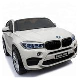 Bmw X6M 2-Seater Electric Ride-On Car White