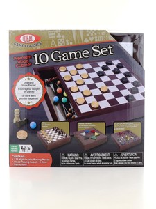 TCG 10 in 1 Wooden Games Set