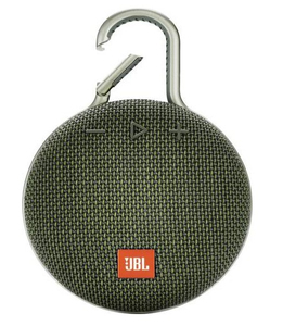 JBL Clip 3 Green Portable Bluetooth Speaker