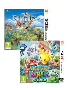 Pokemon Rumble World + Fantasy Life [Bundle]