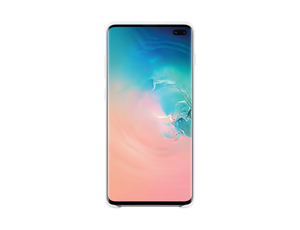 Samsung B2 Silicon Cover White for Galaxy S10+