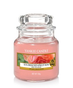 Yankee Candle Classic Jar Apricot Rose [Small]