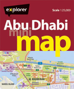 Abu Dhabi Mini Map 4Th Ed