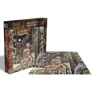 Iron Maiden Somewhere In Time Jigsaw Puzzle [500 Pieces]