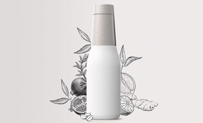 dabe472111 Asobu Oasis Gray Water Bottle   Bottles & Flasks   Drinkware ...