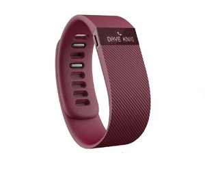 Fitbit Charge Burgundy Large Activity Tracker