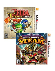 Legend of Zelda: Triforce Heroes +Code Name: S.T.E.A.M. [Bundle]