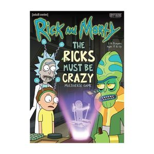 Rick and Morty The Ricks Must Be Crazy Game
