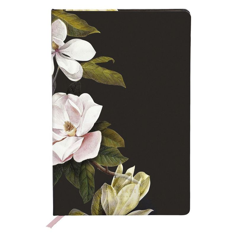 Ted Baker Printed A5 Notebook Opal Black