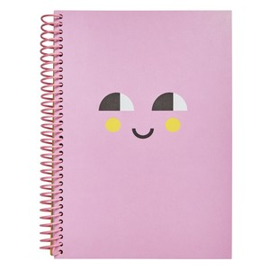Kikki.K A5 Everyday Spiral Notebbook Smile Musk Pink