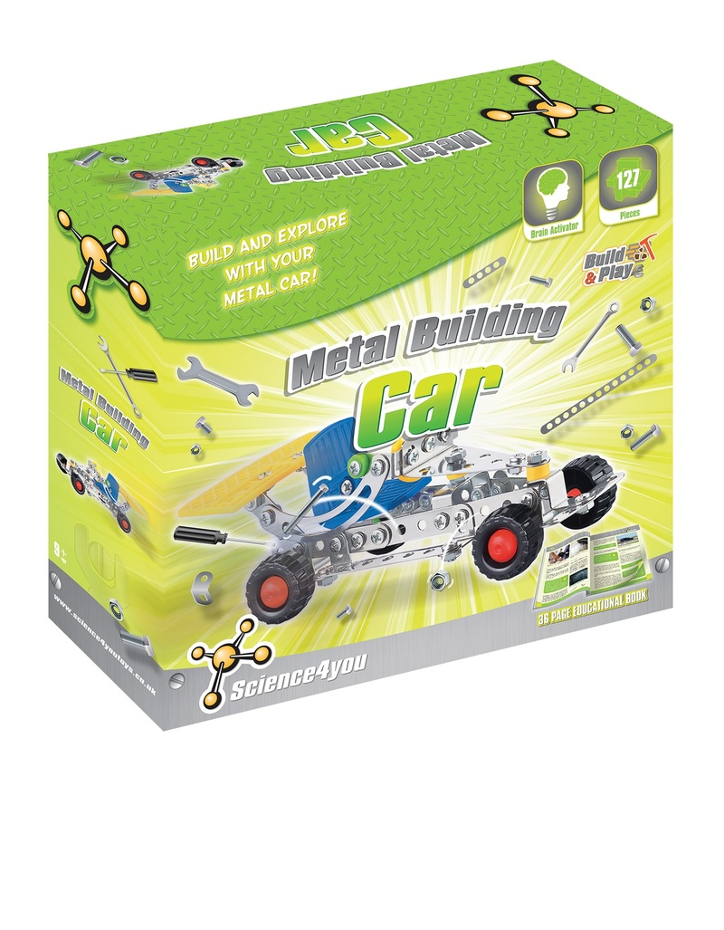 Science 4 You Build & Play Metal Building Car