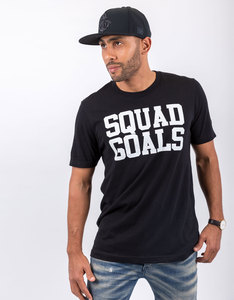 SaveThePeople Squad Goals Black T-Shirt