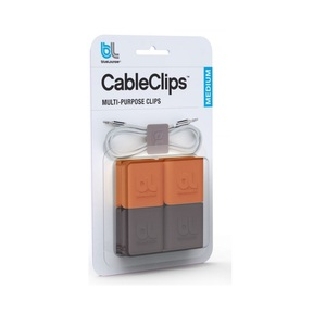 Bluelounge Cableclip Cable Organizer Medium [4 Pack]