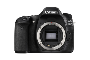 Canon EOS 80D DSLR Camera + EF-S 18-135mm IS USM Lens + 16GB Card + Case + Canon Academy