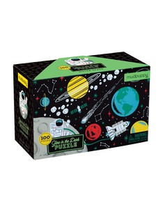 Mudpuppy Outer Space Glow-in-the-dark Puzzle