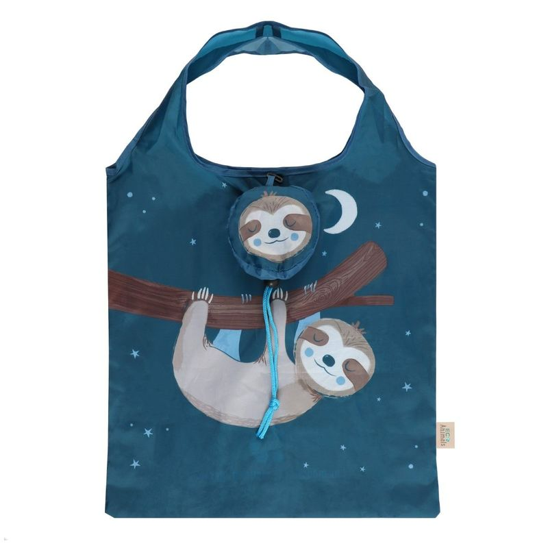 Something Different Sidney Sloth Foldable Shopping Bag