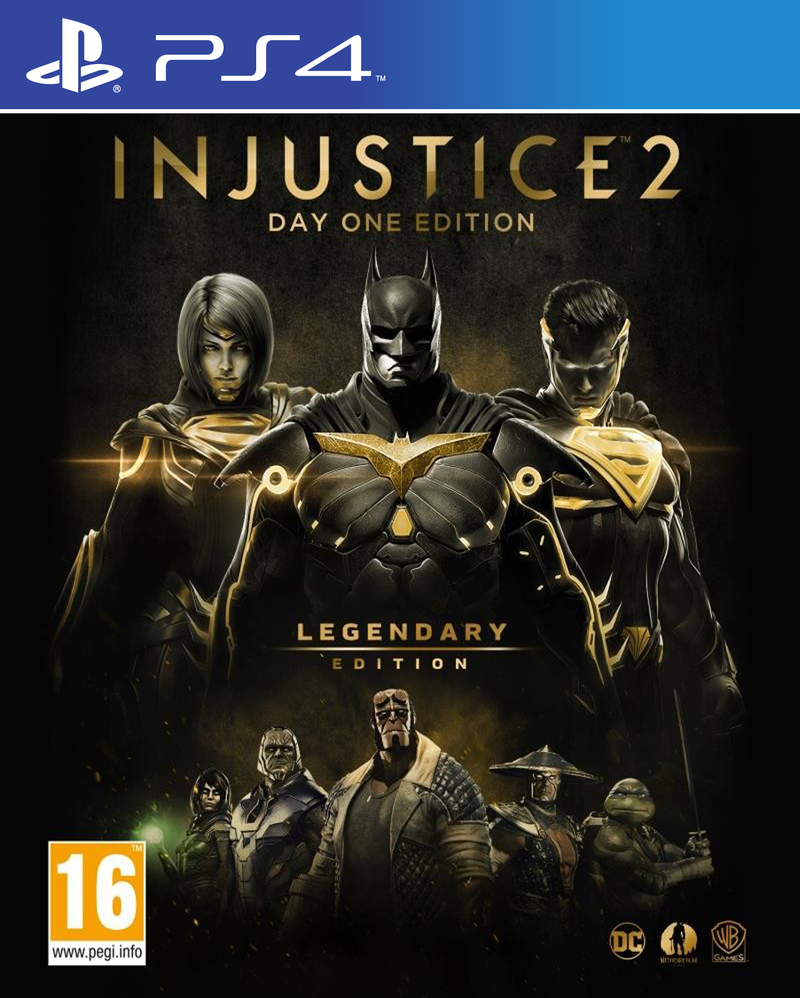Injustice 2 Legendary Edition Games Ps4 Gaming