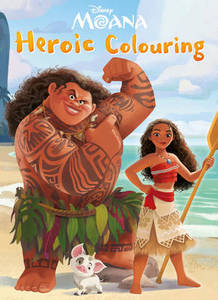 Disney Moana Heroic Colouring