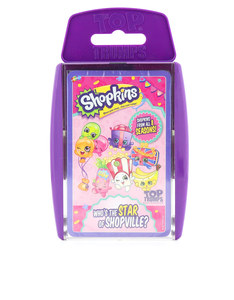 TOP TRUMPS SHOPKINS CARD GAME ENGLISH & ARABIC